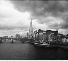 Southwark and Tower Bridge; London. by taudalpoi