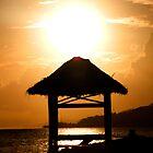 Fijian Sunset by clickedbynic