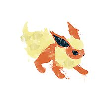 Graffiti Flareon Photographic Print