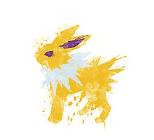 Graffiti Jolteon Photographic Print
