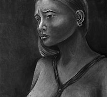 Yapese Girl - Yap Island, Micronesia by Yvonne C. Neth