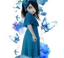 Bluebell by Tanya  Mayers