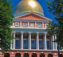 USA. Massachusetts. Boston. State House. by vadim19