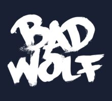Bad Wolf #2 - White by slitheenplanet