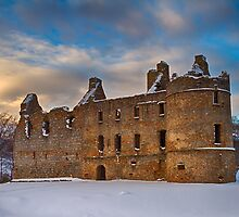 BALVENIE CASTLE - WINTERS DAY by JASPERIMAGE
