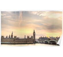 Houses of Parliament, and Big Ben London Poster
