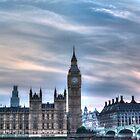 Big Ben and Westminster Bridge by SteveHphotos