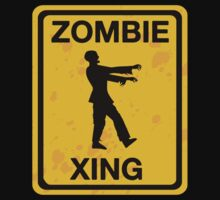 Zombie Xing by BrightDesign