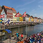 CARNIVAL DAY IN NYHAVEN, COPENHAGEN 01 by danvar