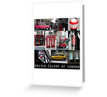 London - iconic images Greeting Card