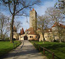 Rothenburg ob der Tauber, Germany by CadburyKeepsake