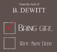Bring Girl, Wipe Away Debt by GeordanUK