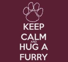 keep calm and hug  fur T-Shirt