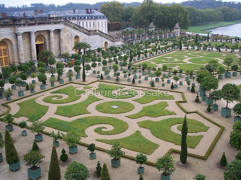 Gardens At The Palace Of Versailles By Cadburykeepsake Redbubble