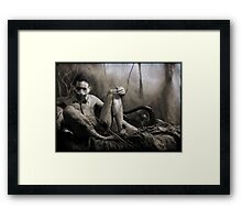 Serpent Fox Framed Print