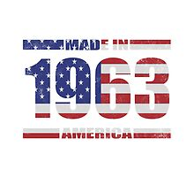 1963 Birthday Year Made In America by thepixelgarden