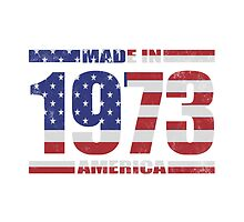 1973 Birthday Year Made In America by thepixelgarden
