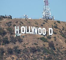 Hollywood Sign by FangFeatures