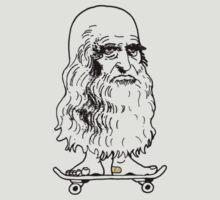 Leonado Skateboard Sml K by tiefholz