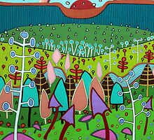 Fantasy Landscape by Richard Klekociuk