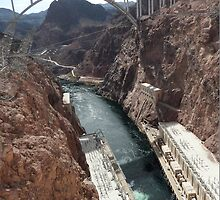 Hoover Dam Spectacular by FangFeatures