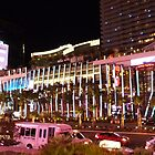 Vegas Strip Nightlife by FangFeatures