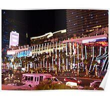 Vegas Strip Nightlife Poster
