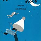 A TRIP TO THE MOON (vintage illustration) by ART INSPIRED BY MUSIC