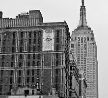 Empire State Building by Roger McNally