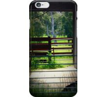 Through the cattle Shed iPhone Case/Skin