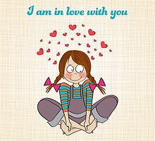 i am in love with you by Balasoiu Claudia