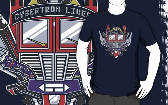 Cybertron Lives! by Arinesart