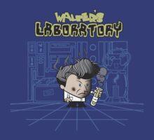 Walter's Laboratory by Arinesart