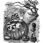 Halloween in Wonderland (iPad Case) by JELarson