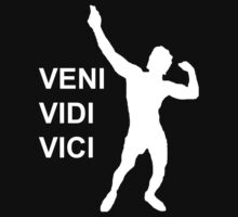 Zyzz - Veni Vidi Vici (White) by Shreddedbrah