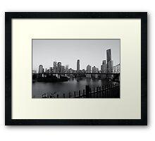 Story Bridge - Brisbane CBD Framed Print
