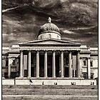 The National Gallery BW by RunnyCustard