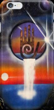 Universal Healing Hand by Sandy Williamson