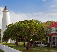 Ocracoke Lighthouse by Kenneth Keifer