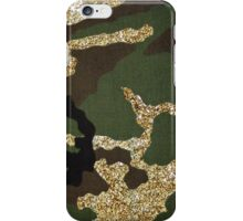 Glitter Camo iPhone Case/Skin
