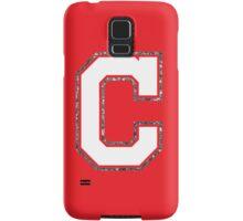 Cleveland Glitter C Samsung Galaxy Case/Skin