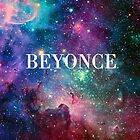 Beyonce Galaxy by Emily Beal