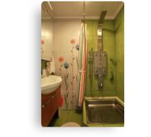 shower Room Canvas Print