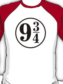 9 And Three Quarters (In Black) T-Shirt