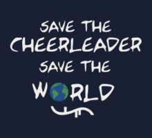 Save the cheerleader save the world // on dark colours by SallySparrowFTW