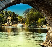 Bidford on Avon River View by StephenRphoto