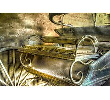 When the limo breaks down ... Monte Cristo ~ Junee NSW Photographic Print
