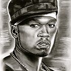 50 cent in black and white by GittaG74
