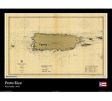 Vintage Print of Porto Rico - 1910 Photographic Print