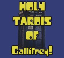 Holy TARDIS of Gallifrey by herogear